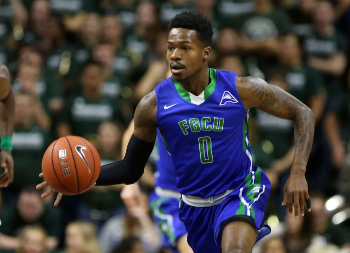 FGCU's Brandon Goodwin named ASUN Newcomer of the Week
