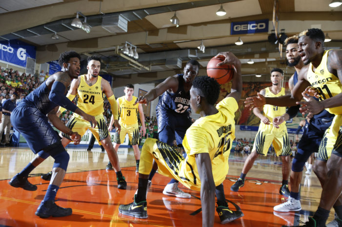UNC's bigs lead them over Chaminade