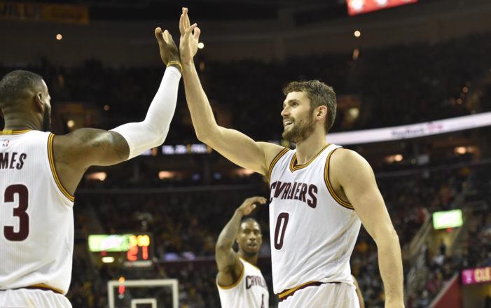 Love's 40, LeBron's triple-double leads Cavs past Blazers