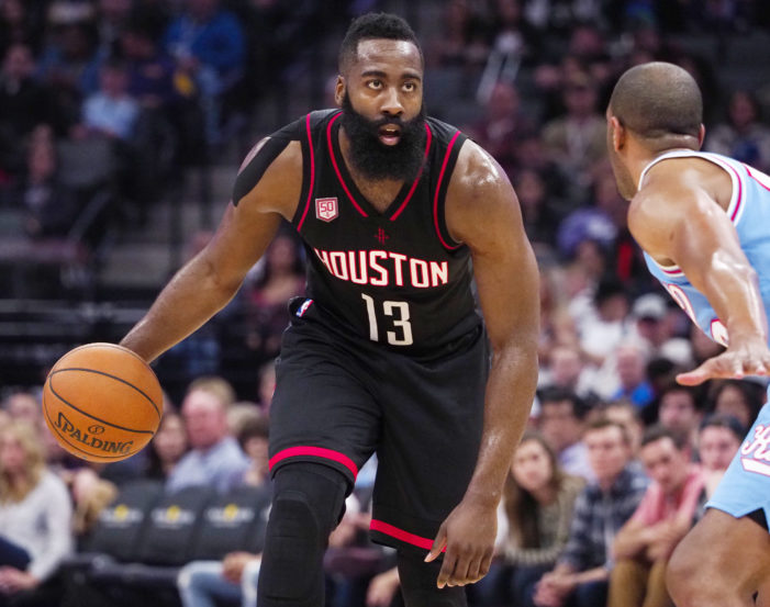 Harden drops triple-double in Houston win over the Kings