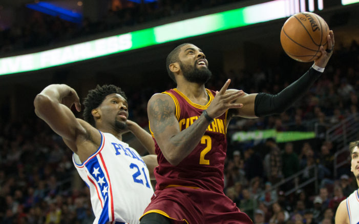 Irving drops season-high 39; Cavs top Sixers