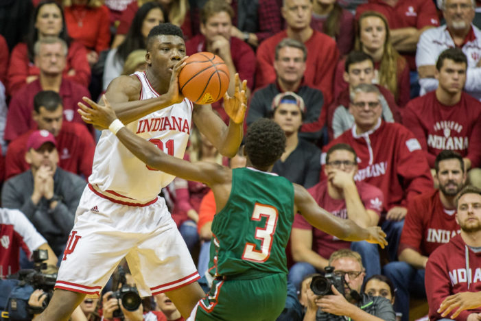 Bryant helps No. 3 Indiana to win
