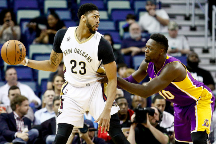 Anthony Davis drops 41 in rout of Lakers