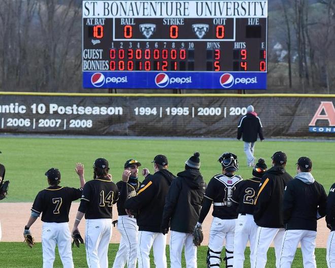Bonnies baseball signs six to NLIs