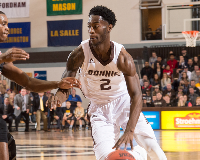Bonnies knock off Maryland behind Stockard's late score