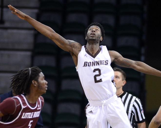 Adams, Mobley lead Bonnies past Pepperdine, 89-63