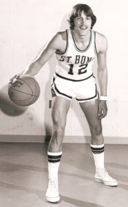 As a player, Baron led the 1976-77 NIT Champions with 3.9 assists per game. (Photo courtesy of St. Bonaventure Athletics)