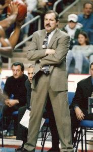 Jim Baron compiled a record of 132-131 over nine season as head coach of the St. Bonaventure Bonnies. (Photo courtesy of St. Bonaventure Athletics)