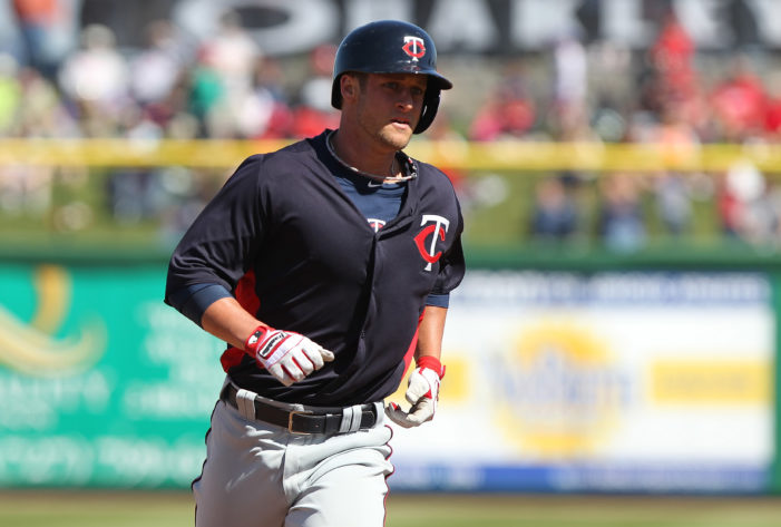 Twins sign eight to minor league contracts