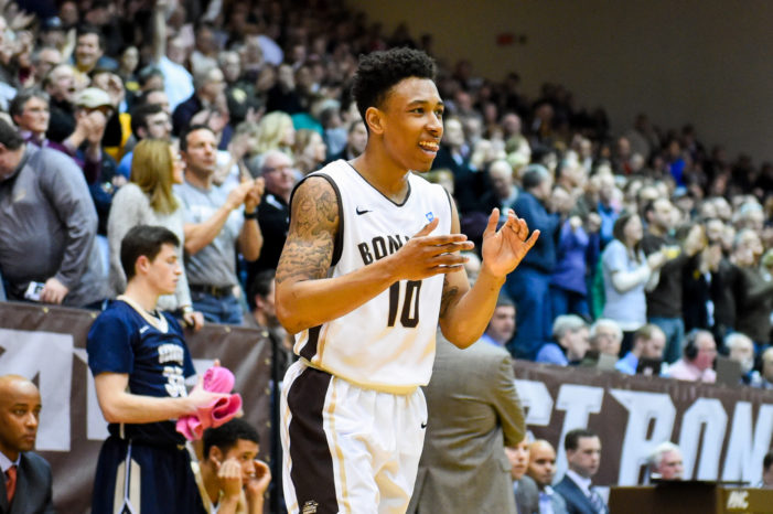 St. Bonaventure's Jaylen Adams named A-10 Co-Player of the Week