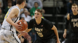 Six Army players reach double figures in 76-56 win