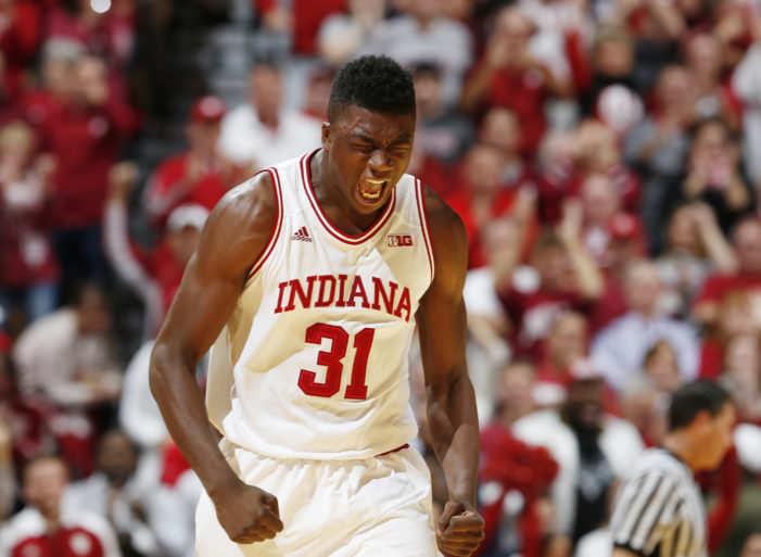 No. 13 Indiana knocks off UNC