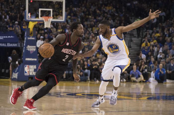 Harden posts triple-double; Rockets snap Warriors' winning streak
