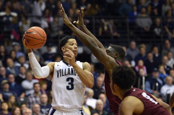 Saint Joseph's defeated by No. 2 Villanova, 88-57