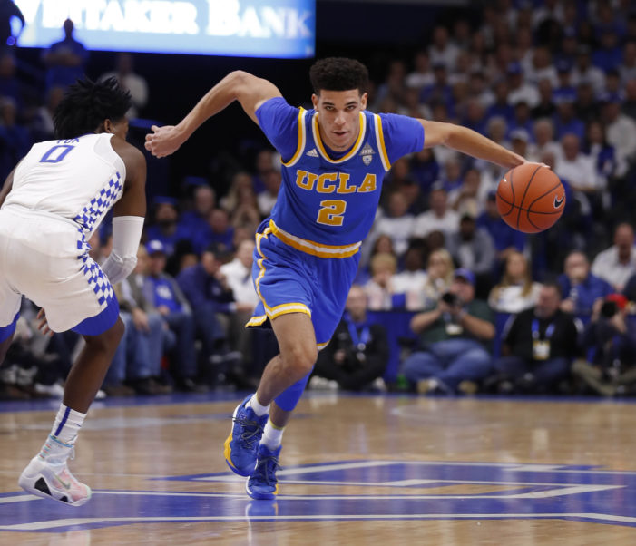No. 11 UCLA upsets No. 1 Kentucky