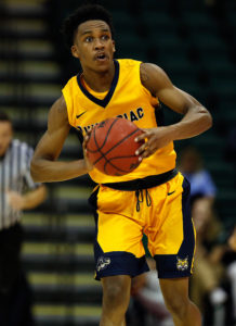 Mikey Dixon (3) led the Bobcats with 18 points on 7-14 shooting in a 91-72 loss to preseason favorite Monmouth, and then had 14 points in 19 minutes on 6-10 shooting in a 77-63 win over Marist. (Photo: Kim Klement-USA TODAY Sports)