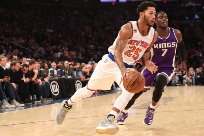 Melo, Rose power Knicks past Kings