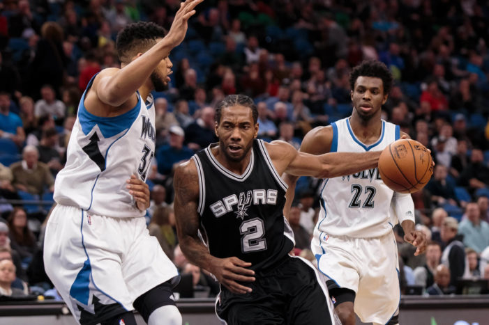 Leonard drops 30 for fifth time this season