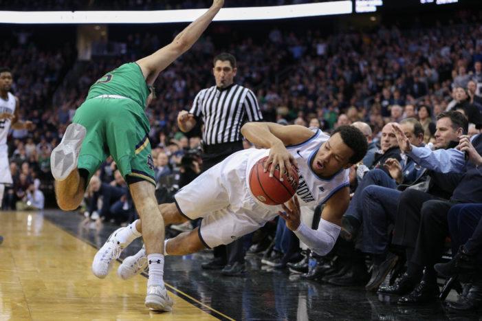 No. 1 Nova wins battle with Irish