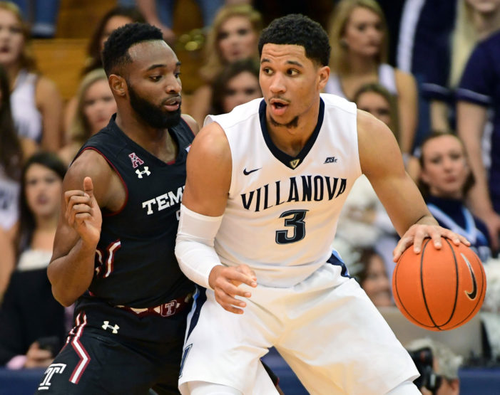 No. 1 Nova takes Big 5 battle with Temple