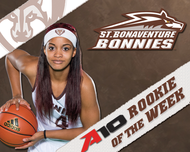 Bona's Terry named A-10 Women's Rookie of the Week