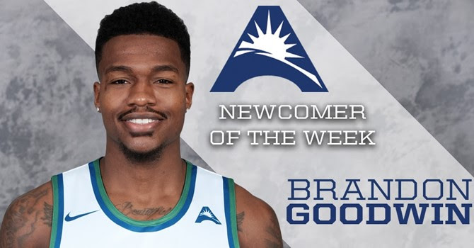 Goodwin named A-SUN Newcomer of the Week for second time