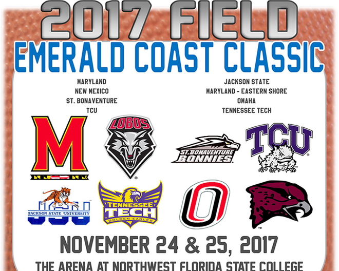 Bonnies to participate in 2017 Emerald Coast Classic