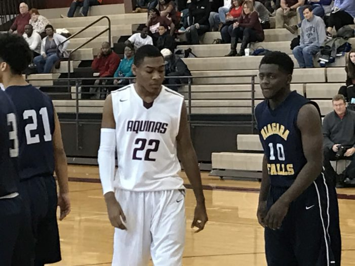 Defense keys Aquinas victory over Niagara Falls