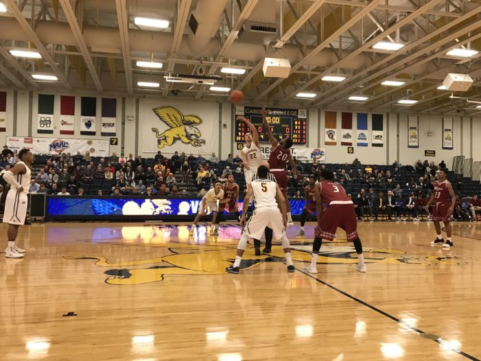 Rider goes inside, knocks off Canisius