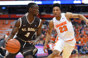 Nelson Kaputo (4) handed out a game-high six assists. (Photo: Rich Barnes-USA TODAY Sports)
