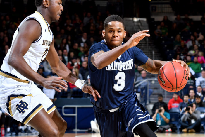 Trevis Wyche scores 17 second-half points to help Saint Peter's oust rival Monmouth