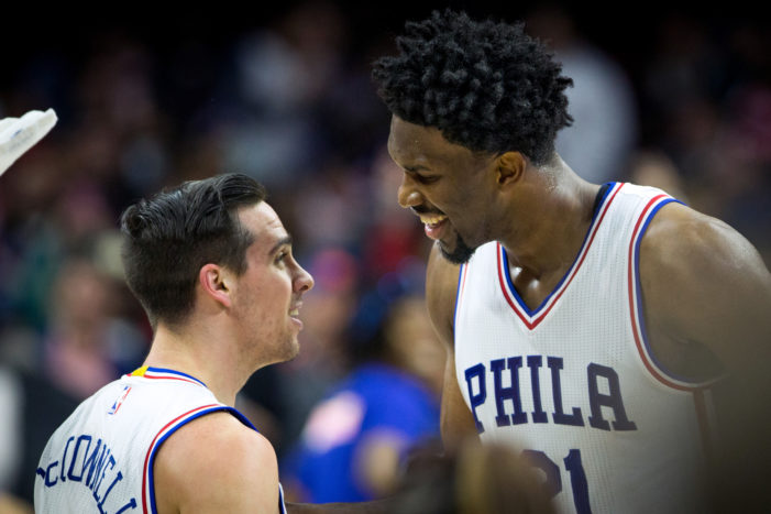 McConnell nails buzzer-beater; Sixers top Knicks