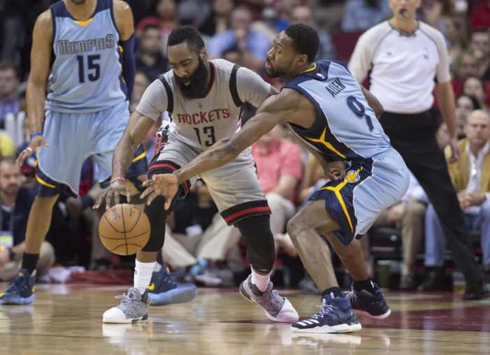 Allen drops season-high 22 in Grizzlies' victory over the Rockets