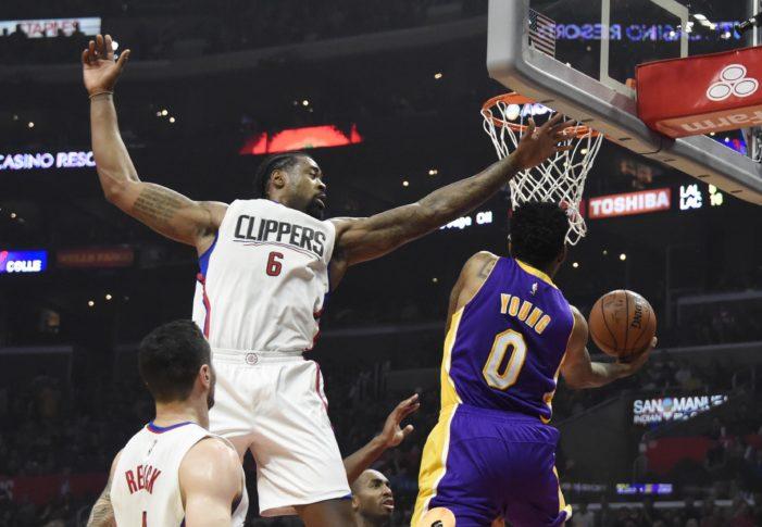 Jordan's 20-20 pushes Clippers past Lakers