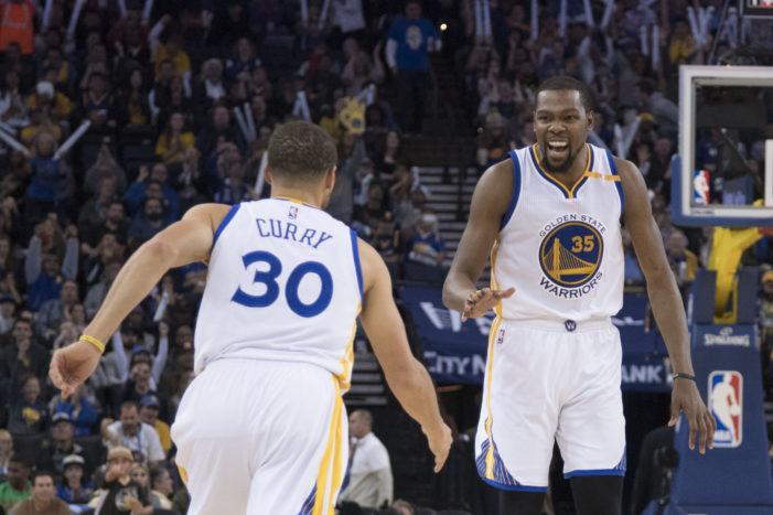 Warriors trounce Cavaliers