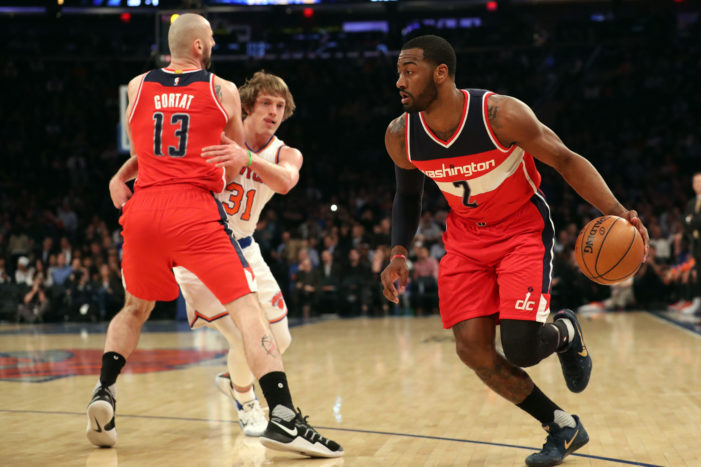 Wall's clutch play leads Wizards past Knicks
