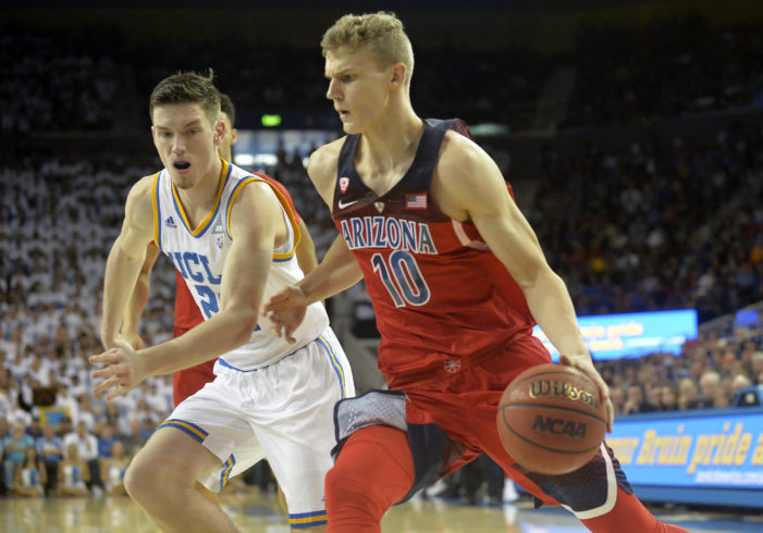 Arizona's Markkanen named Oscar Robertson National Player of the Week