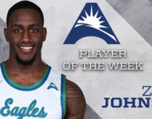 Zach Johnson named A-Sun Player of the Week