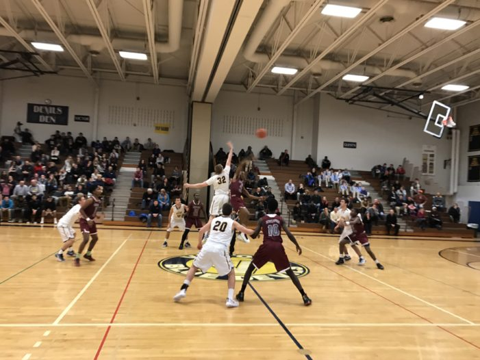 Holland leads aerial attack; Edison defeats Victor