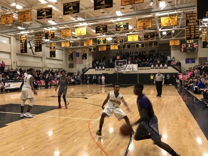 Section Five Weekend Roundup: Fairport stays steady. McQuaid sends message. Perry makes it 19 straight and a buzzer beater at Nietopski