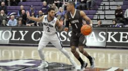 Holy Cross pulls away from Lehigh in second half, 61-45
