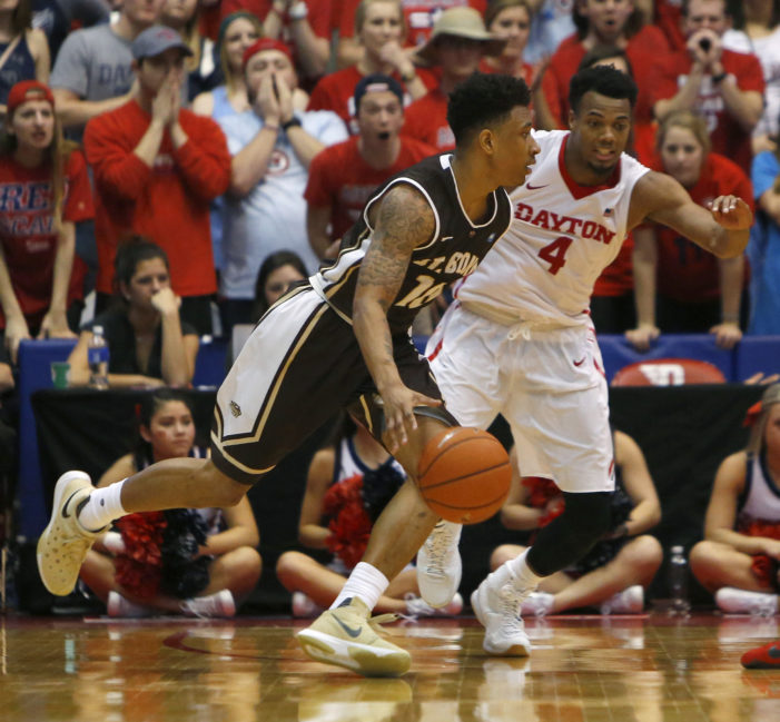 Dayton endures Adams, Bona