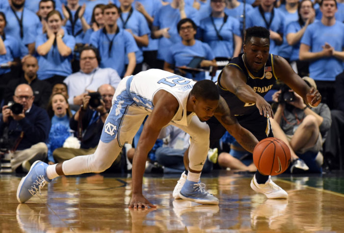 No. 12 UNC holds off No. 20 Irish