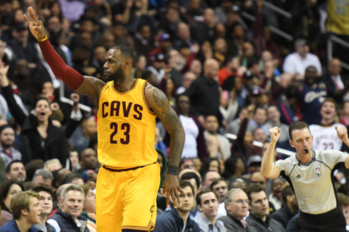 LeBron banks in game-tying three; Cavs prevail in overtime