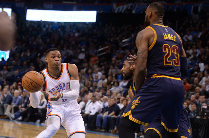 NBA Roundup: Westbrook's 63rd triple-double, Thomas drops 34 points