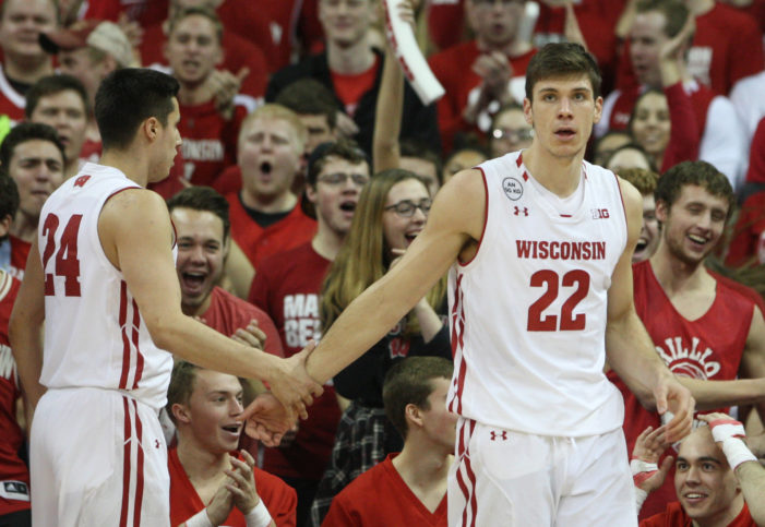 No. 11 Wisconsin dominates second half, beats No. 25 Maryland