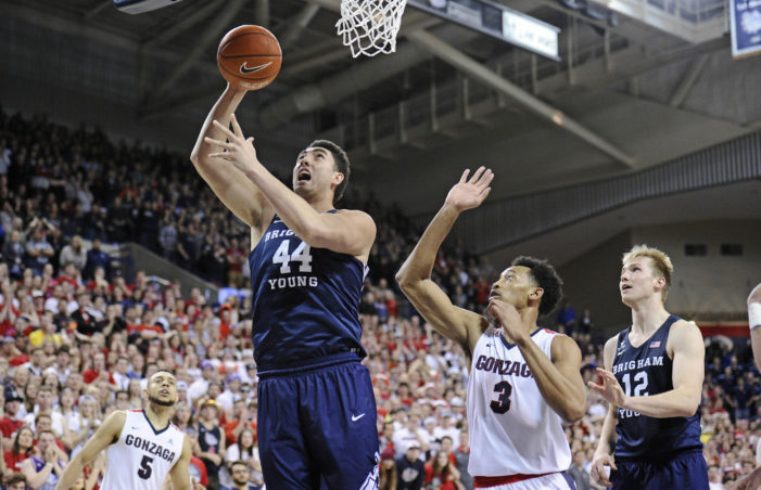 Gonzaga's undefeated run comes to an end