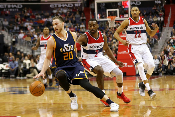 NBA Roundup: Jazz stay in tune, Rip honored, Westbrook's 29th triple-double
