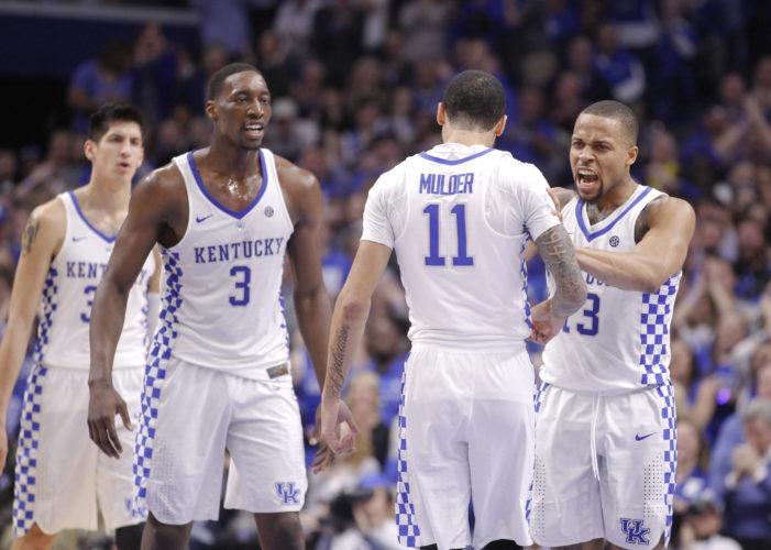 No. 9 Kentucky makes record comeback for win