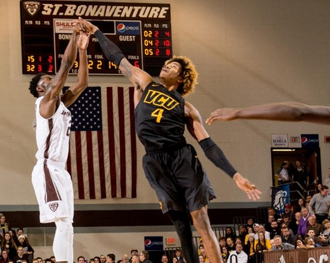 St. Bonaventure falls in OT to VCU; Mobley sets school record with nine three-pointers
